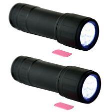 Zwei soft touch LED Auto KFZ Zubehör Lampen Taschenlampe RICHTER / HR hellweiss