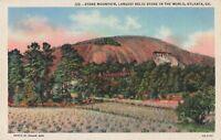 Postcard Stone Mountain Atlanta Georgia