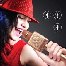 Wireless Microphone Speaker Bluetooth KTV Karaoke For iPhone Samsung Android