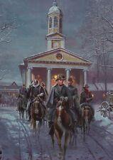 The Gray Ghost, Mosby in Warrenton, Virginia Cavalry Military Civil War Postcard