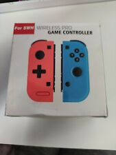 Replacement Nintendo Switch Joy-Con Wireless Red/Neon Blue Controller