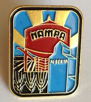 Nampa Alberta Farm Design Souvenir Pin Badge Rare Vintage (G3)