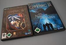 Gothic II-Gold Edition (PC, 2008) 5 CDs en dvdbox