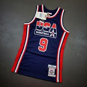 100% Authentic Michael Jordan Mitchell & Ness 1992 USA Jersey Size 36 S Mens