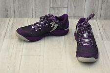 361 Men's 361-Mazer Basketball Shoe - Size 9.5, Grapes/Silver