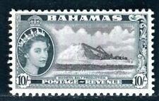 BAHAMAS 1954 177 ** POSTFRISCH 10 SHILLING (D9814