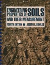 FAST SHIP - BOWLES 4e Engineering Properties of Soils and their Measurement  H92