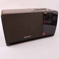 Sony Dream Machine ICF-C900 Dual Alarm Digital Clock AM/FM Radio Simulated Wood