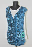 Desigual 61T25Y1 womens blouse shirt tunic Size XXL
