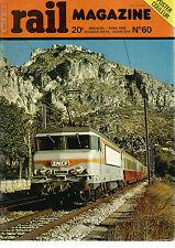 RAIL MAGAZINE N°60 BELGIQUE / LES SALINS D'HYERES / LOCO DIESEL POUR L'IRAK...