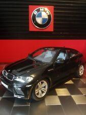 Burago - BMW X6 metallic-schwarz 1:18 Bburago - Vitrinenstück