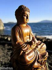 EXQUISITELY DETAILED BEAUTIFUL TIBETAN BUDDHIST SHAKYAMUNI BUDDHA STATUE NEW