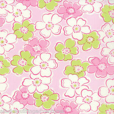 MODA Fabric ~ GIGGLES~ by Me & My Sister (22202 11) Pink  - by 1/2 yard
