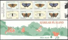 More details for aland 1994 butterflies/insects/nature/conservation/butterfly 8v bklt (b7733)