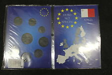 FOLDER PER EURO SET 8 MONETE MALTA