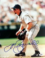 JEFF BAGWELL SIGNED AUTOGRAPHED 11x14 PHOTO HOUSTON ASTROS PSA/DNA