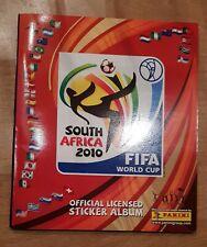 Panini WM 2010 Sammelalbum WC 10 KOMPLETT Album mit allen Sticker Stickeralbum
