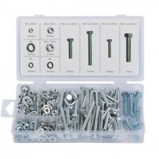 460 Piece Nut Washer and Bolt Set with Case - M5 M6 M8