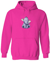 Unisex Sweater Men Women Pullover Hoodie Sweatshirt Cute Baby Heffalump S~3XL