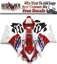 Fairings For Honda CBR1000RR 2006 2007 ABS Kit Bodywork Fairings HRC White Red