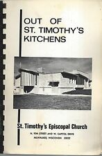 MILWAUKEE WI 1971 ST TIMOTHY'S EPISCOPAL CHURCH KITCHENS COOK BOOK *LOCAL ADS