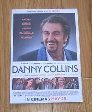 DANNY COLLINS promotional postcard double sided