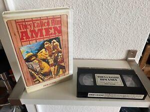Dein Wille geschehe Amigo, super seltene VHS Verleih Auflage / Inter Ocean Video