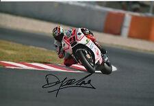 Danilo Petrucci Hand Signed Pramac Ducati 12x8 Photo 2015 MotoGP 10.