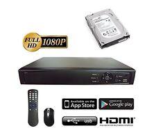 Hikvision OEM HD-TVI 16 ch channel DVR 1080p  HDTVI Hybrid With 2TB