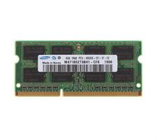 4 GB Samsung 4GB 2RX8 PC3-8500S DDR3-1066MHz 204PIN Laptop Memory SODIMM RAM CL8