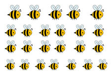 Nail Art Decal Stickers - Bumble Bee - easy to use on any colour nail.17
