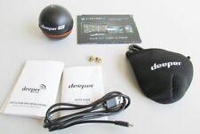 Deeper DP0H10S10 Fischfinder mit App für Apple iphone, ipad Bluetooth Angel J7