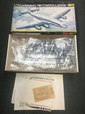 NOS Heller Lockheed L-749 Constellation Model Plane Kit Sealed Parts Bags 1/72