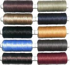 Top Qualità 20'S Jean Riparazione Filo, Poliestere / Cotone, 140MTR Vari Colori