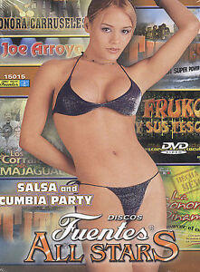 Salsa & Cumbia Party with the Discos Fuentes All S DVD