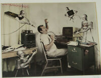 VTG 'REVENGE OF THE SEMI-CONDUCTORS' ENGINEERS NIGHTMARE PHOTO! SIGNED! FRAMED!