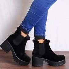 Unbranded Ankle Boots Pull On Synthetic Shoes for Women