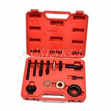 AC Pulley Remover Installer Puller Kit Alternator Pully Press New Tool Set