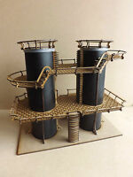 Dual Silos - scenery terrain warhammer 40k wargame Infinity wargaming building