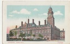 Leicester Town Hall Vintage Postcard 311a
