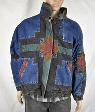IZZI - Vintage 80's Insulated Jeans Jacket - Large