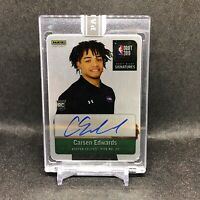 2019-20 Carsen Edwards Panini Instant Metal Auto Green /10 Rookie Card Celtics