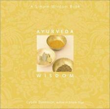 Excellent, Ayurveda Wisdom: A Simple Wisdom Book, Cybele Tomlinson, Book