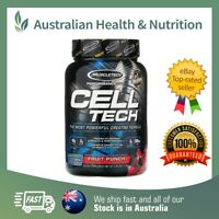 MUSCLETECH CELL TECH 3LB // CHOOSE FLAVOUR + FREE SAME DAY SHIPPING & SAMPLE
