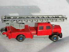 H0 Scale Wiking 62 n Red Pickup Truck W/ Ladder