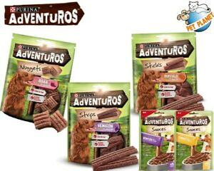 Purina Adventuros Wild Boar Venison Buffalo Turkey Sauces & Bakers Dog Treats🐕