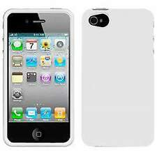 AMZER Injecto Snap On Hard Back Case Cover for iPhone 4, 4S , CDMA - White