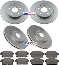 Vauxhall Mokka All 2012 Drilled Grooved Rear Brake Discs