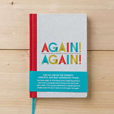 'Again! Again!' Keepsake Baby Journal Book- Record Things Your Kids Say & Do
