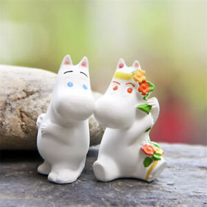 Moomin Valley Character Moomintroll and Snork Maiden Figures Toy Figurine DecorB